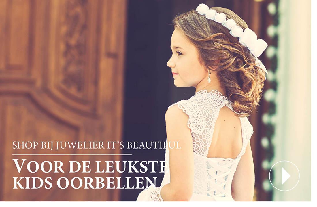 SHOP BIJ JUWELIER IT'S BEAUTIFUL VOOR DE LEUKSTE KIDS OORBELLEN