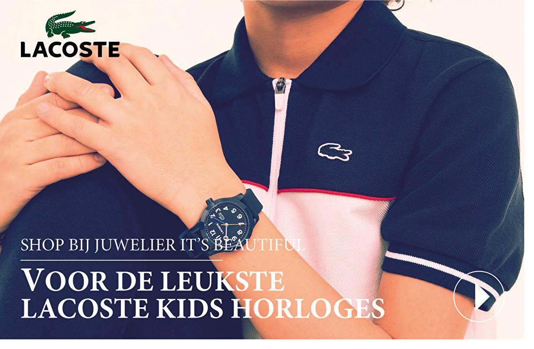 SHOP BIJ JUWELIER IT'S BEAUTIFUL VOOR DE LEUKSTE LACOSTE KIDS HOLROGES