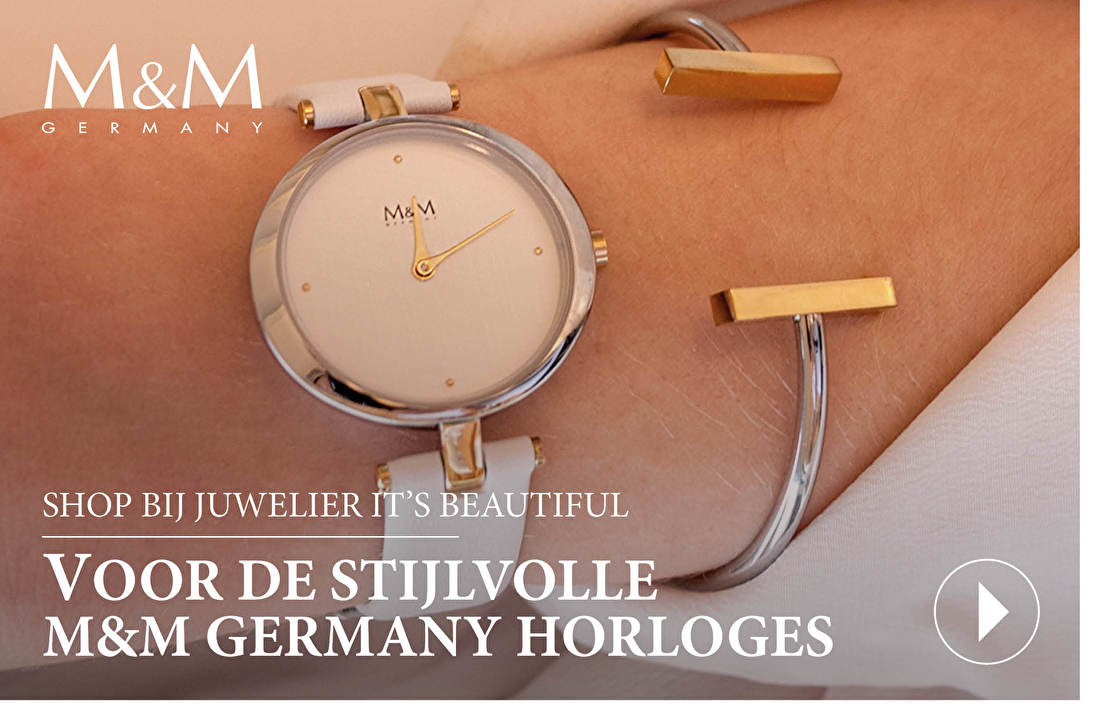 SHOP BIJ JUWELIER IT'S BEAUTIFUL VOOR DE STIJLVOLLE M&M GERMANY HORLOGES