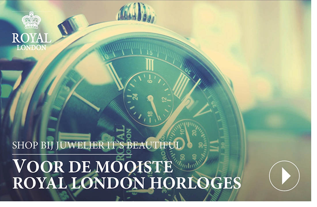 SHOP BIJ JUWELIER IT'S BEAUTIFUL VOOR DE MOOISTE ROYAL LONDON HORLOGES