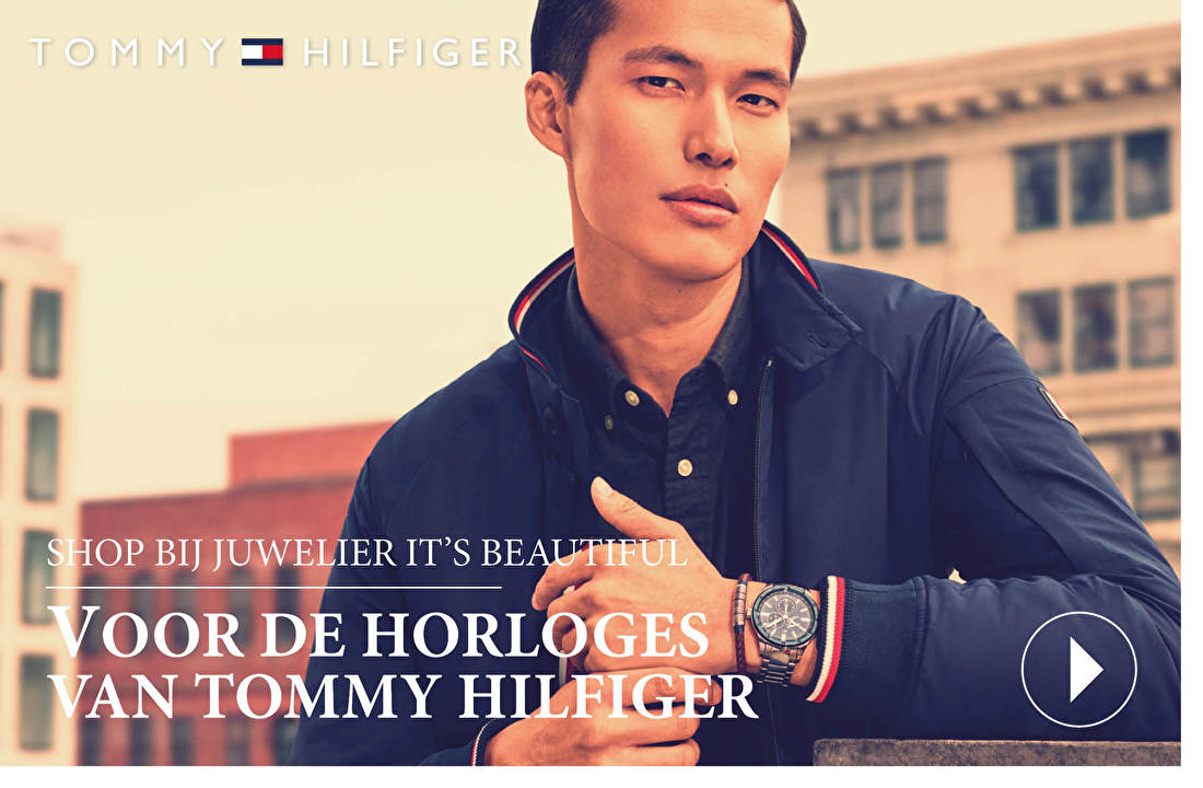 SHOP BIJ JUWELIER IT'S BEAUTIFUL VOOR DE HORLOGES VAN TOMMY HILFIGER