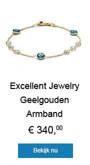Excellent Jewelry Geelgouden Armband