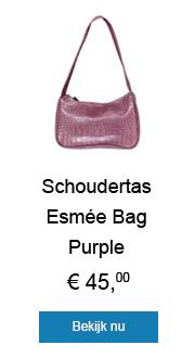 Shop deze supermooie schoudertas en fleur jouw outfit op!
