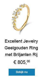 Shop deze stijlvolle ring van Excellent Jewelry!