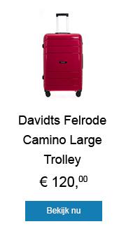 Felrode Camino Large Trolley van Davidts