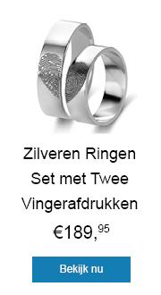 Shop deze superleuke relatie ringen met vingerafdruk!