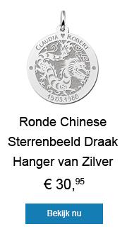 Ben jij spiritueel? Shop dan deze mooie Chinese sterrenbeeld hanger.