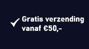 Gratis verzending vanaf € 50,-