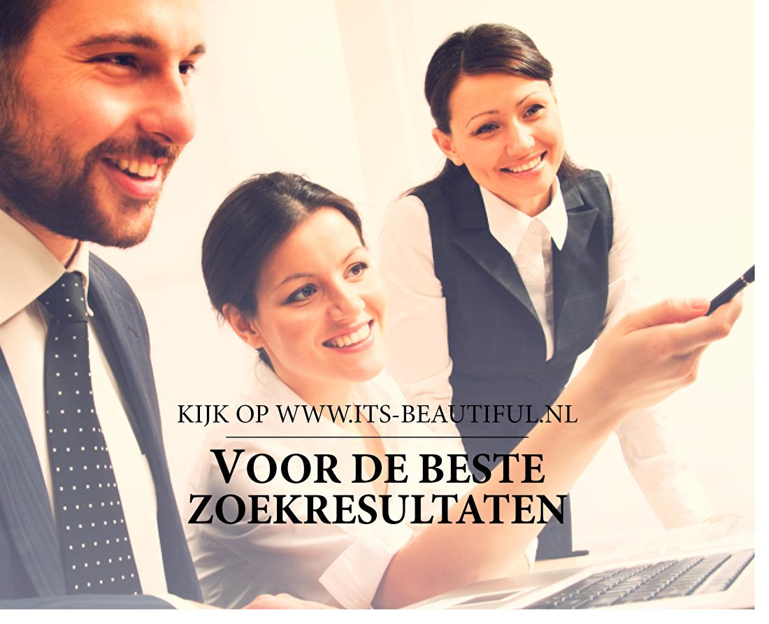 Kijk op www.its-beautiful.nl voor de beste zoekresultaten.