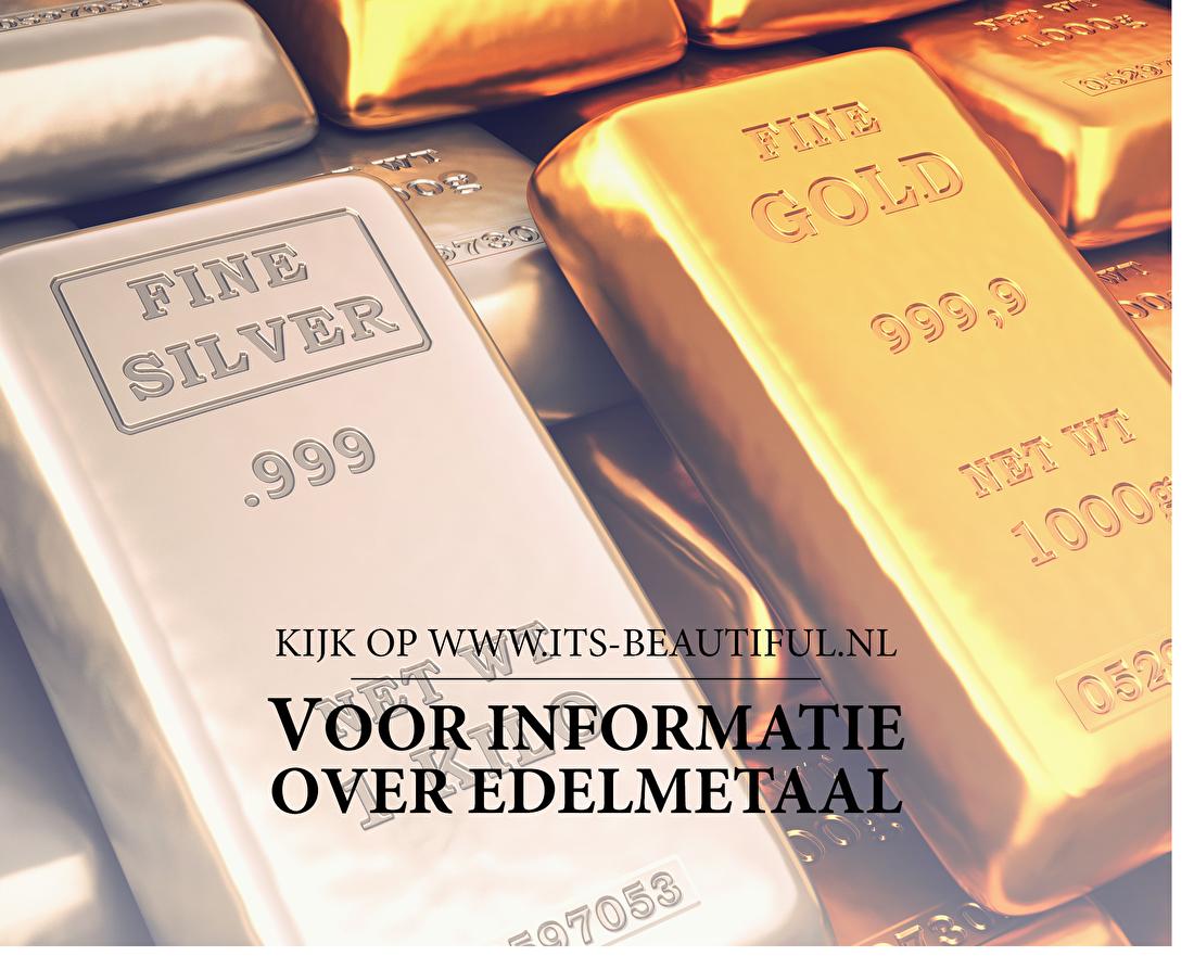 Kijk op www.its-beautiful.nl voor informatie over edelmetaal