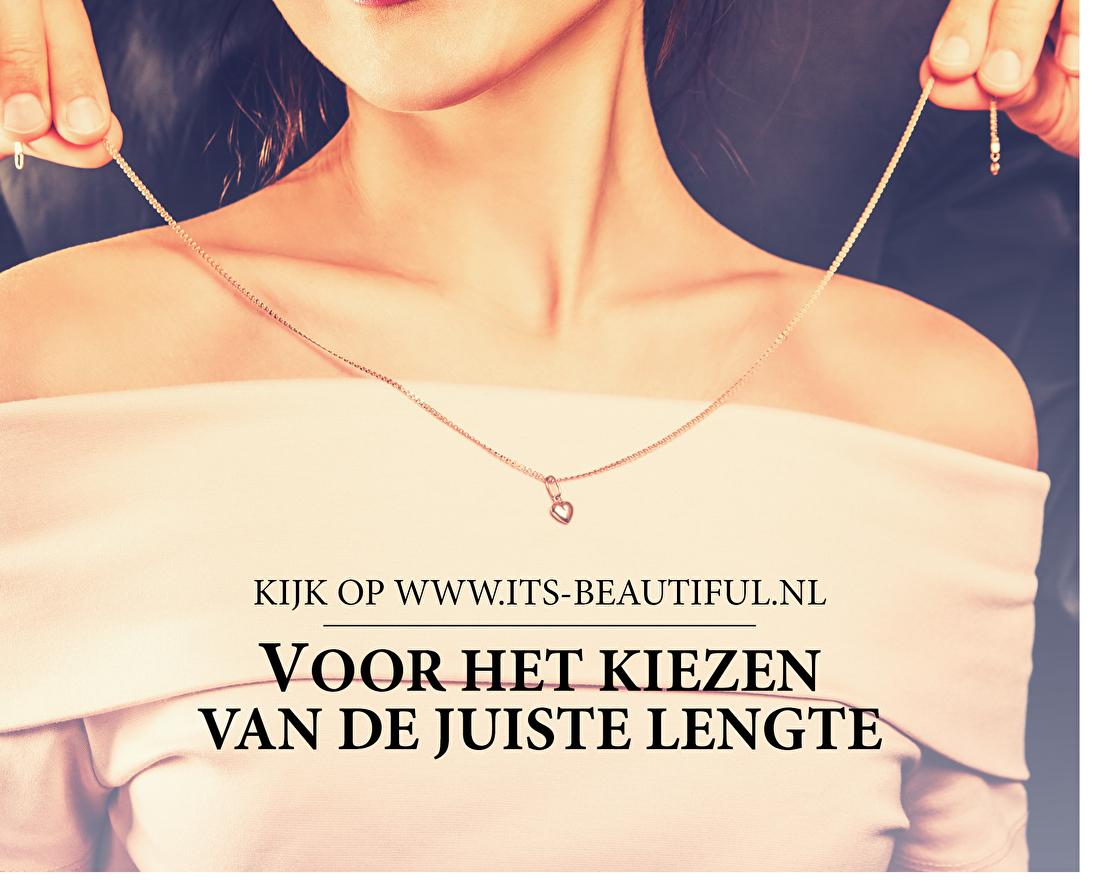 Kijk op www.its-beautiful.nl voor het kiezen van de juiste lengte.