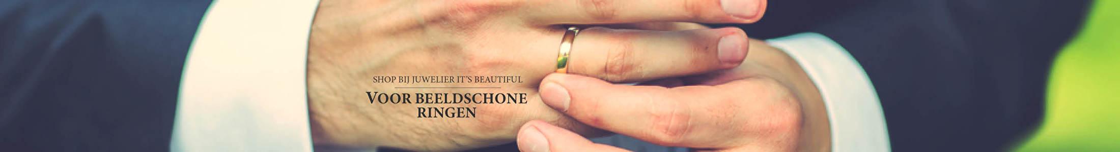 Shop bij juwelier It's Beautiful voor beeldschone ringen
