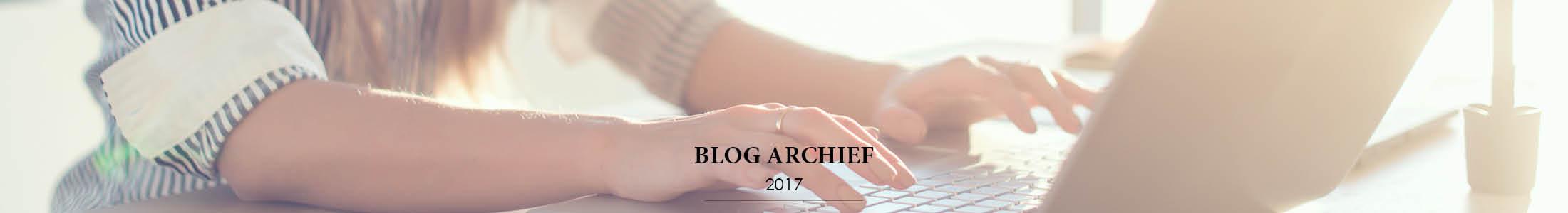 Blog Archief 2017