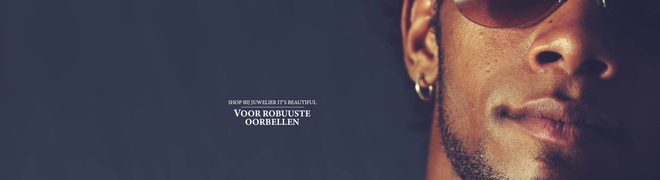 Shop bij juwelier It's Beautiful voor robuuste oorbellen