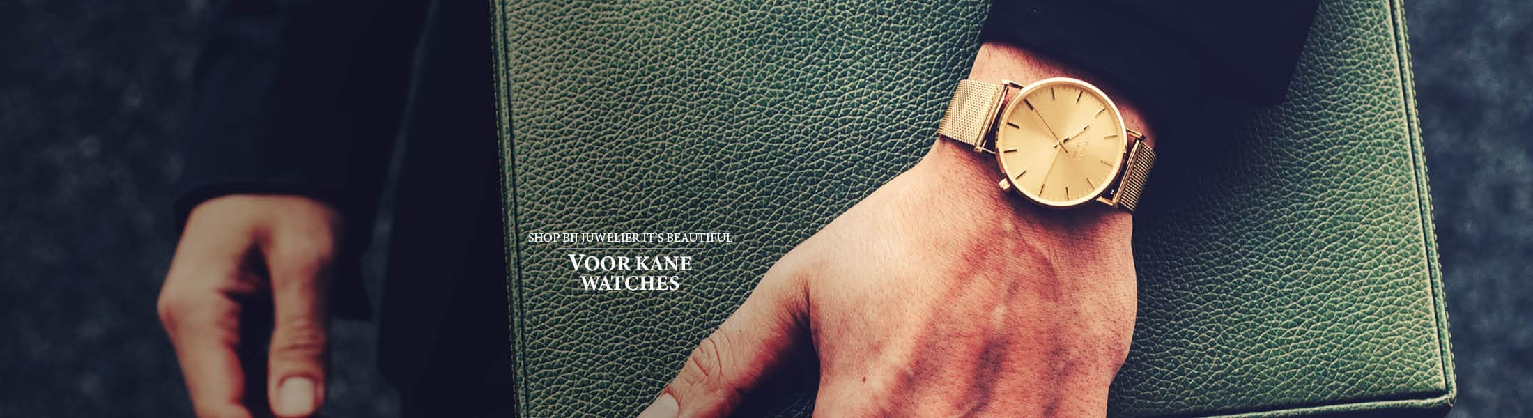Shop bij juwelier It's Beautiful voor KANE WATCHES