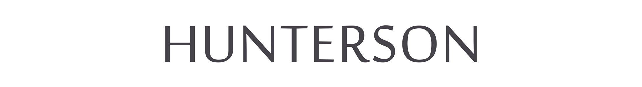 Hunterson Logo