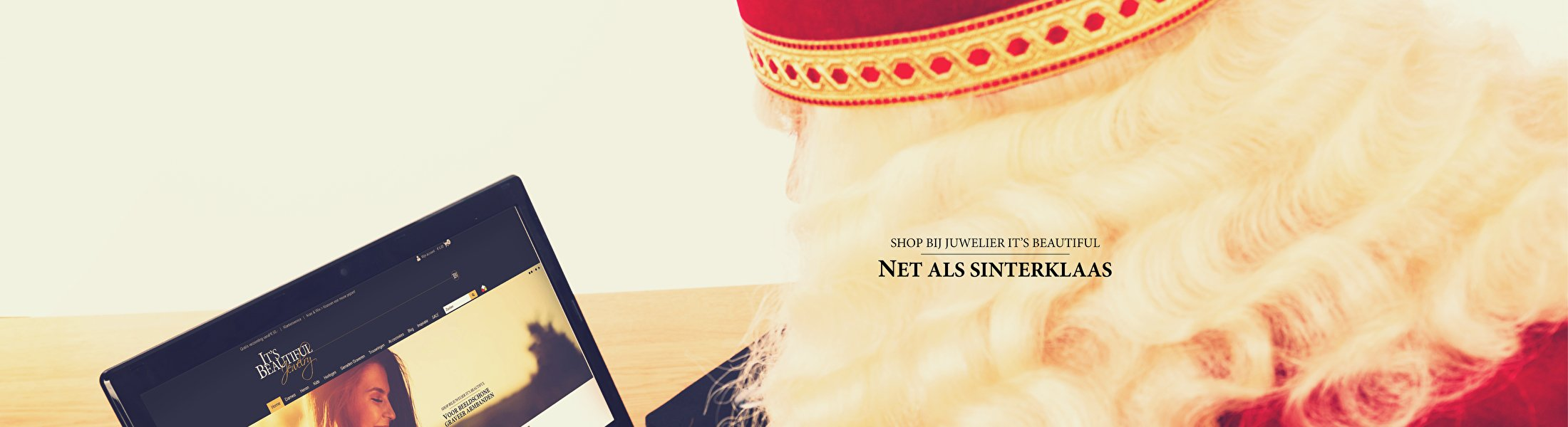 Shop bij juwelier It's Beautiful Net als Sinterklaas