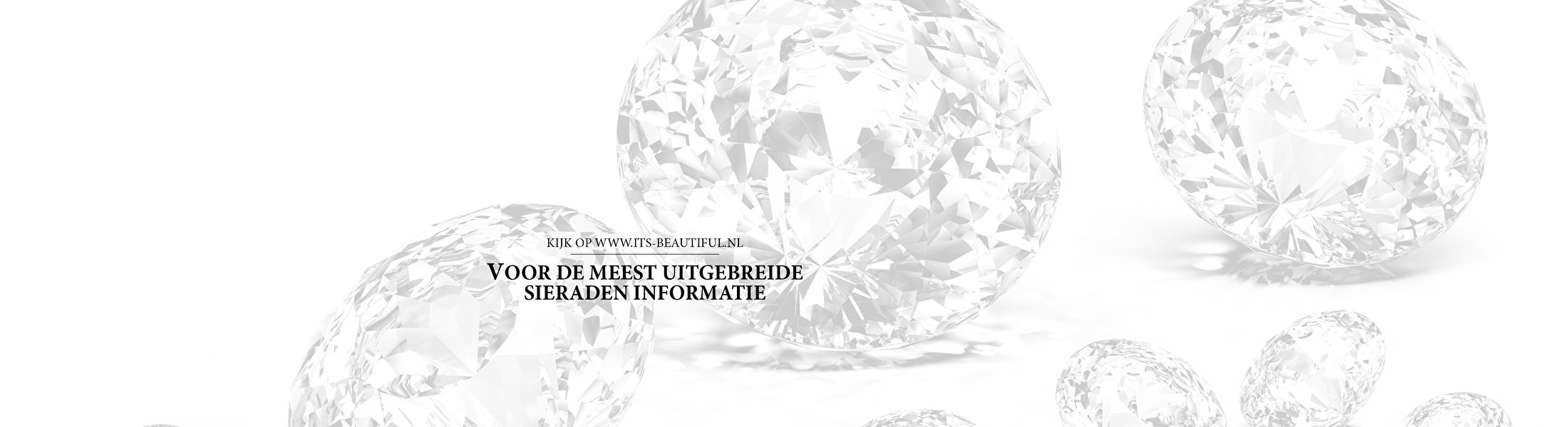 Kijk op www.its-beautiful.nl voor de meest uitgebreide sieraden informatie
