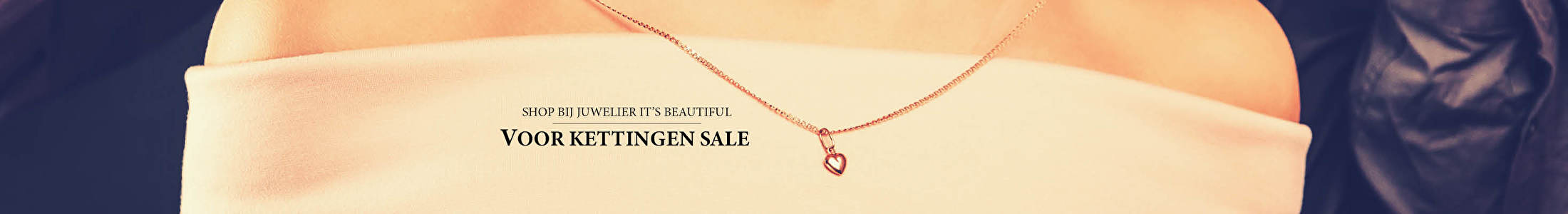 Shop bij juwelier It's Beautiful voor kettingen sale