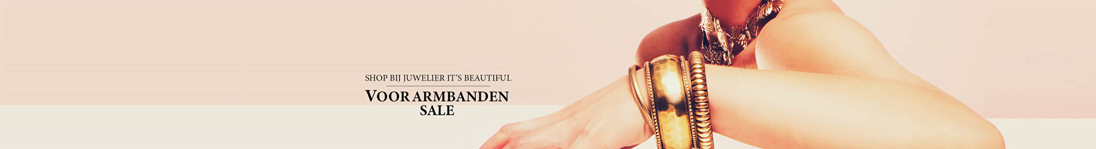 Shop bij juwelier It's Beautiful voor armbanden sale
