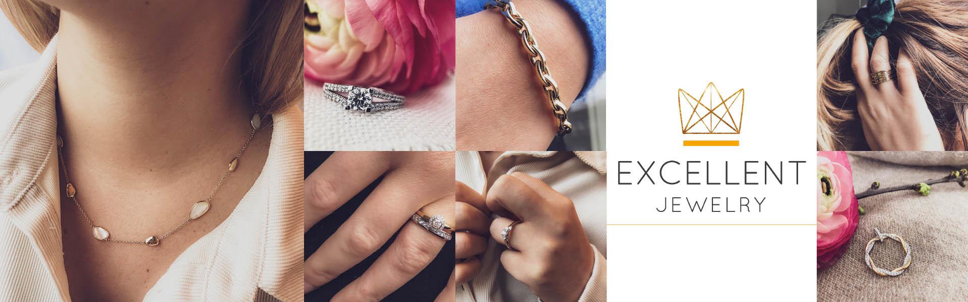 De mooiste sieraden van Excellent Jewelry shopt u hier!