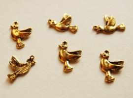 Bedels: gouden duifjes (M-027-PH)