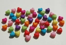 Hartjeskralen gekleurde mix (AC108-PH6)