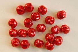 Fantasieparels in rood (P-032-CB)