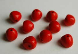 Dikke korte kegels in rood (AC-045-PH)