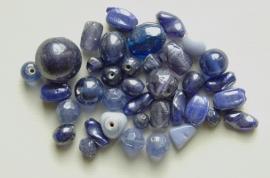Blauwe mix met glanscoating (BK-032-BK)