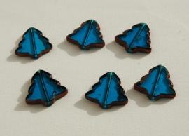 Kerstboomkralen in aqua-blauw (K-008-PH)