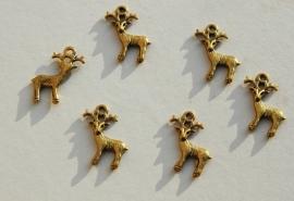 Bedels: gouden hertjes (M-029-PH)