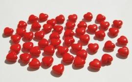 Hartjeskralen in rood (AC-107-PH6)