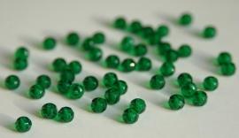 Facetkraal in prachtig diep groen (F-019-CB)