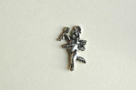 Cupido bedel van metaal (M-002-ZN)