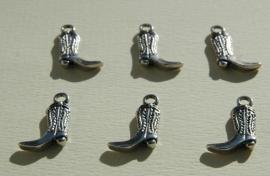 Bedels: cowboylaarsjes van Tibetaans Zilver (M-64-PH)