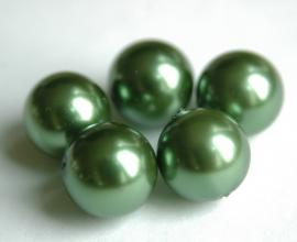 Hele grote groene parels (P-89-BK)