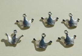 Bedels: kroontjes van Tibetaans zilver (M-062-MP)