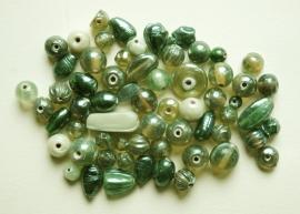 Groene mix met glanscoating (BH-034-BK)