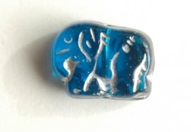 Blauwe olifantjes (CB-19)