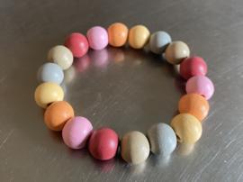 Armband in bijzondere kleurencombinatie (ABH-011)