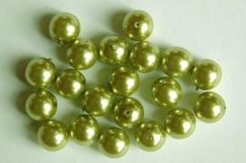 Lichtgroene parels 10 mm (P73KB)