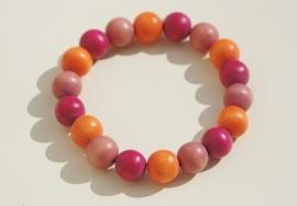 Armband in bijzondere kleurstelling (ABH-005)