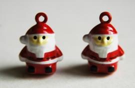 Kerstmanbelletjes (bedel of hanger)  (M-045-PH)