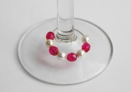 Parel-facet winecharms, set 1 (WCD-006)