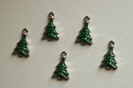 Bedels: Kerstboompjes in groen (M-043-PH)