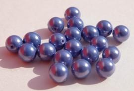 Lichtpaars/blauwe parels 8 mm (P-038-BH)