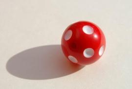 Rood-witte polka-dot (AC-27)
