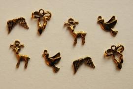 Mix van gouden bedels (M-025-PH)