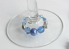 Winecharms - luxe glaskralen in pasteltinten (WCD-009)